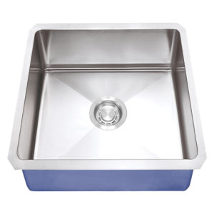 "Dakota Signature Series 16"" x 16"" Micro Radius Undermount 16 Gauge Stainless Steel Sink"