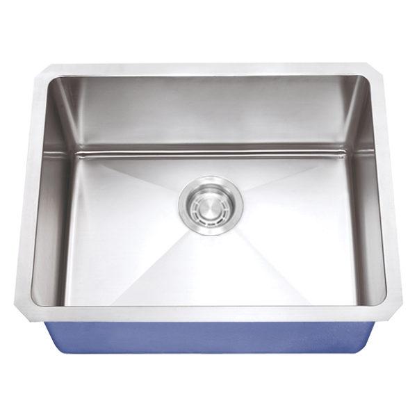 "Dakota Signature Series 23"" x 18"" Micro Radius Undermount 16 Gauge Stainless Steel Sink"