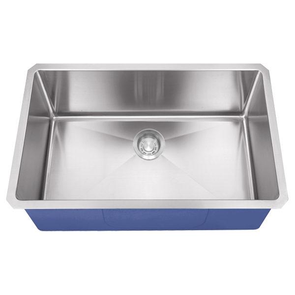 "Dakota Signature Series 30"" x 18"" Micro Radius Undermount 16 Gauge Stainless Steel Sink"