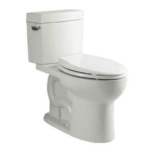 DSW-2EL28W Two-Piece Toilet 3/4 View