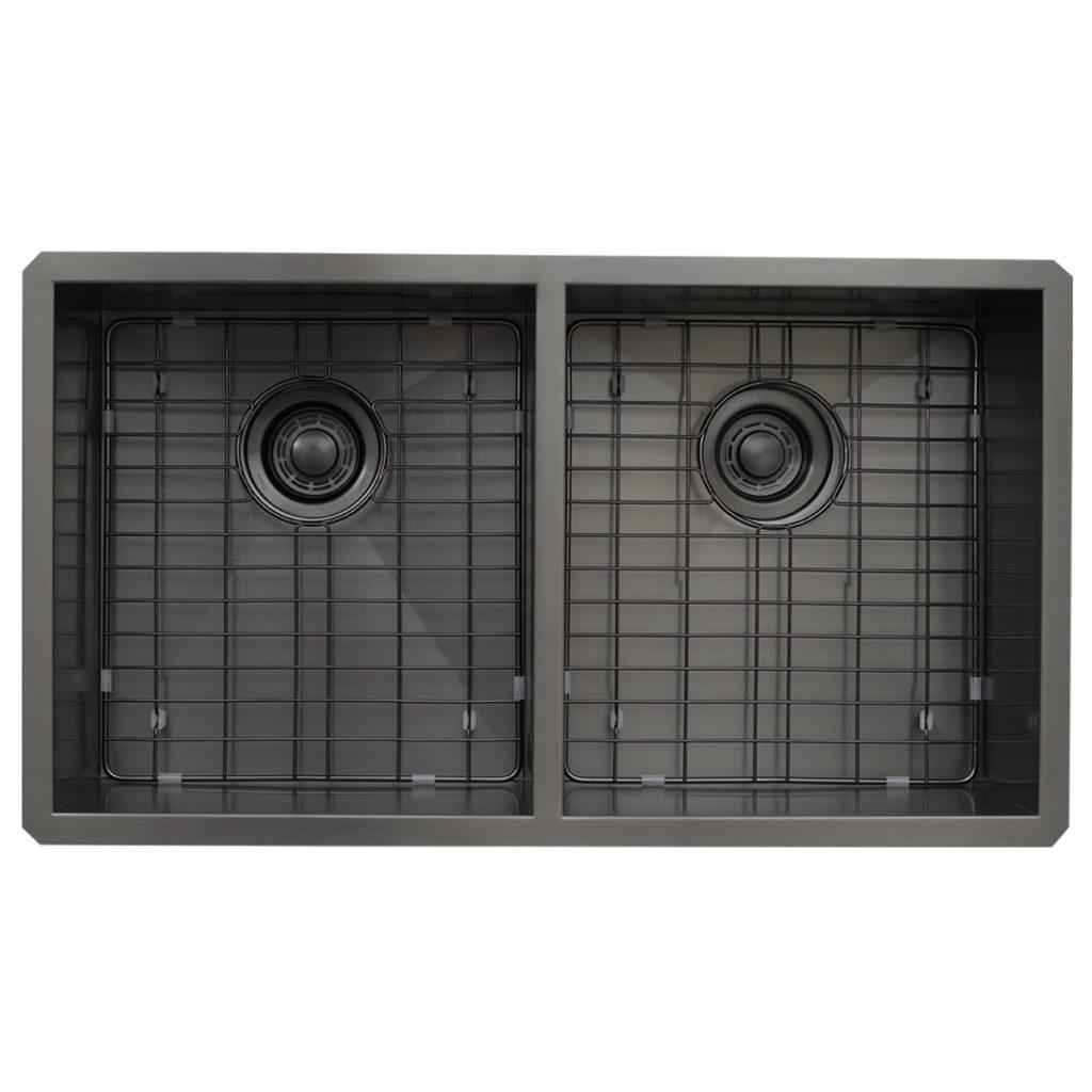 DSZ-5050GBK Gunmetal Black Image Top View with Grids