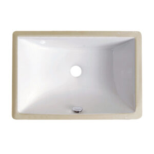 US-1611 White Porcelain Sink