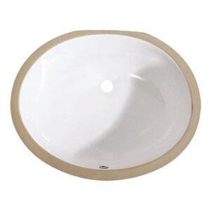 US-1714 White Porcelain Sink