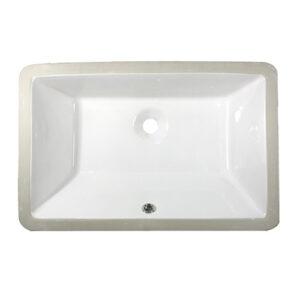 US-1811T White Porcelain Sink