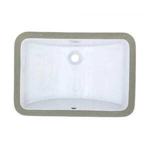 US-1812 White Porcelain Sink