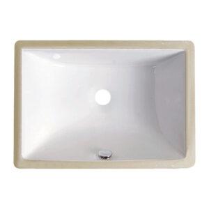 US-1813 White Porcelain Sink