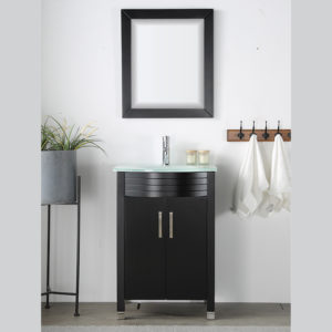 V-31-24-30-E-5 espresso colored vanity