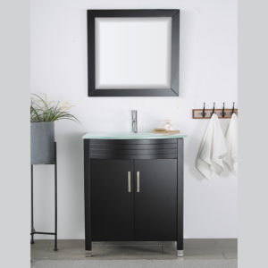V-31-24-30E-5 espresso colored vanity