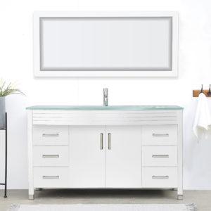V-31-48-60-W large white vanity