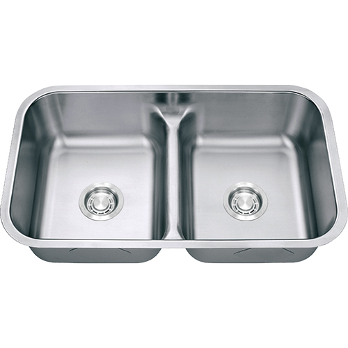gs18-5050ld double bowl kitchen sink