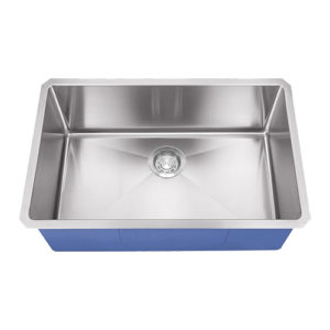"Dakota Signature Series 27"" x 18"" Micro Radius Undermount 16 Gauge Stainless Steel Sink"