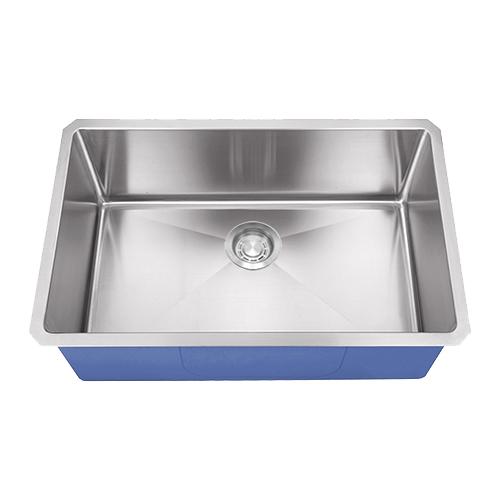 "Dakota Signature Series 27"" x 18"" Micro Radius Undermount 16 Gauge Stainless Steel Sink"