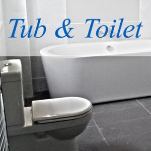 Tub & Toilet