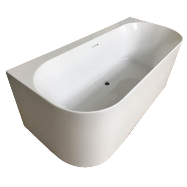DST-WMOCB00 One-Wall Mounted Tub 3/4 View