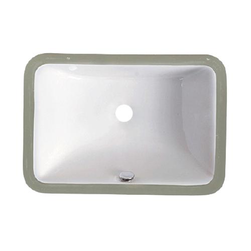 US-1812W White Porcelain Sink