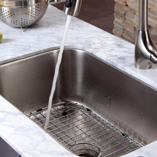 stainless sink promo pic